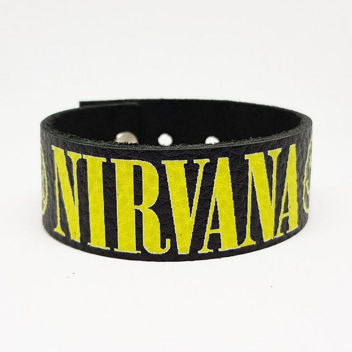 """Браслет кожаный """"Nirvana"""" (9326)"""