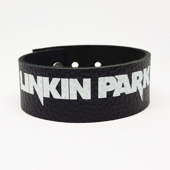 """Браслет кожаный """"Linkin Park"""" (9334)"""