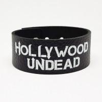 """Браслет """"Hollywood Undead"""" кожаный"""