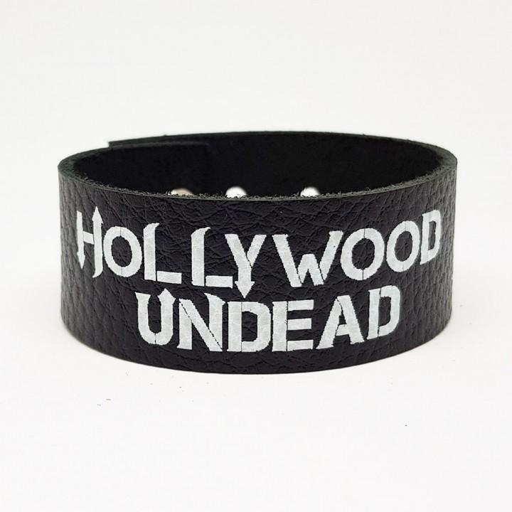 """Браслет кожаный """"Hollywood Undead"""" (9327)"""