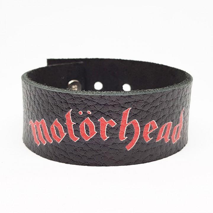 """Браслет кожаный """"Motorhead"""" (9608)"""