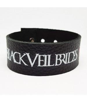 """Браслет """"Black Veil Brides"""" кожаный"""