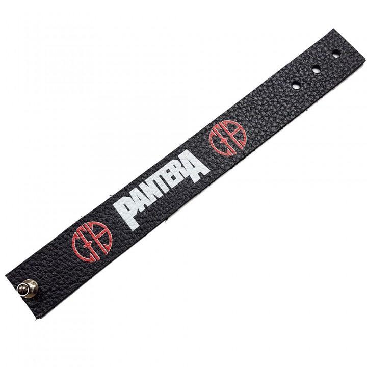 """Браслет кожаный """"Pantera"""" (9648)"""