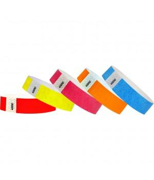 Контрольные бумажные браслеты Tyvek