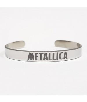"""Браслет стальной """"Metallica"""""""