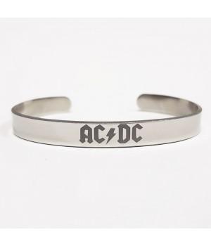 """Браслет стальной """"AC/DC"""""""