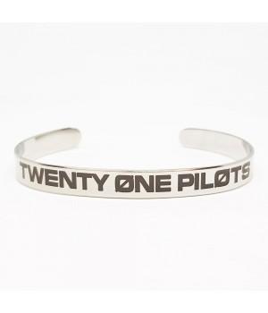 """Браслет стальной """"Twenty One Pilots"""""""