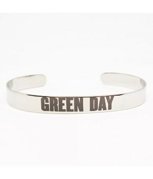 """Браслет стальной """"Green Day"""""""