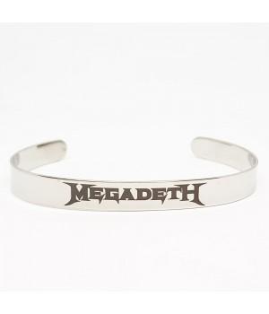 """Браслет стальной """"Megadeth"""""""