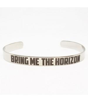 "Браслет стальной ""Bring Me The Horizon"""