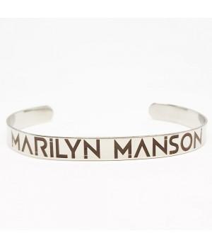 """Браслет стальной """"Marilyn Manson"""""""