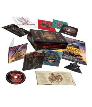 "CD Iron Maiden ""Senjutsu"" (2CD, Blu-Ray) Super Deluxe Box Set"