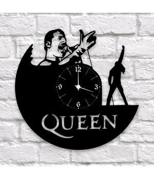 """Часы """"Queen"""" из виниловой пластинки"""