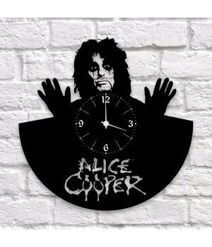 """Часы """"Alice Cooper"""" из виниловой пластинки"""