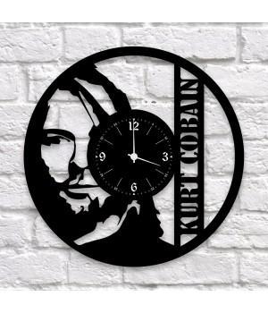 """Часы """"Nirvana"""" из виниловой пластинки"""
