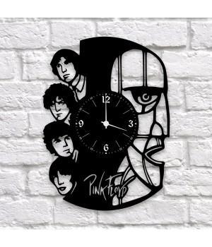 """Часы """"Pink Floyd"""" из виниловой пластинки"""