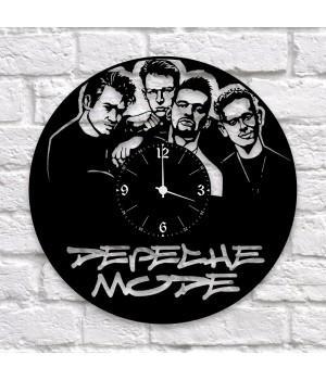 """Часы """"Depeche Mode"""" из виниловой пластинки"""