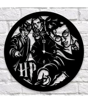 "Часы ""Harry Potter (Гарри Поттер)"" из виниловой пластинки"