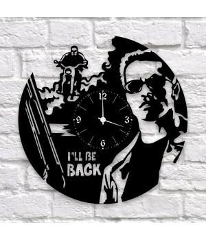 """Часы """"The Terminator (Терминатор)"""" из виниловой пластинки"""