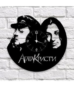 "Часы ""Агата Кристи"" из виниловой пластинки"