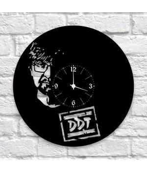 """Часы """"ДДТ"""" из виниловой пластинки"""