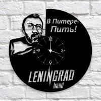 """Часы """"Ленинград"""" из виниловой пластинки"""