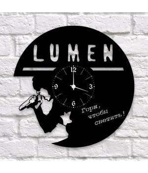 """Часы """"Lumen"""" из виниловой пластинки"""