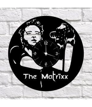 """Часы """"The Matrixx"""" из виниловой пластинки"""