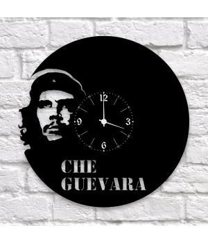 """Часы """"Che Guevara (Че Гевара)"""" из виниловой пластинки"""