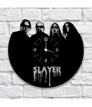 """Часы """"Slayer"""" из виниловой пластинки"""