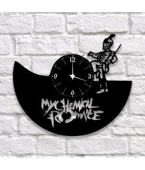 "Часы ""My Chemical Romance"" из виниловой пластинки"