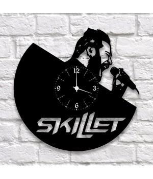 """Часы """"Skillet"""" из виниловой пластинки"""