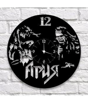 """Часы """"Ария"""" из виниловой пластинки"""