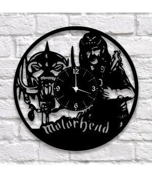 """Часы """"Motorhead"""" из виниловой пластинки"""