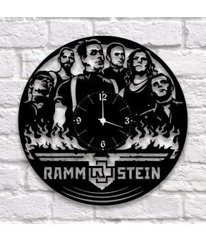 """Часы """"Rammstein"""" из виниловой пластинки"""