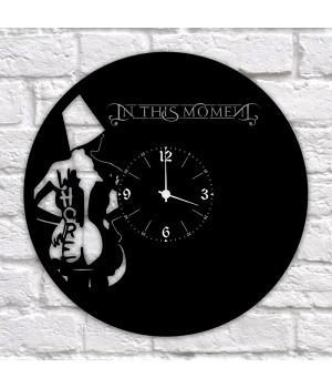 "Часы ""In This Moment"" из виниловой пластинки"