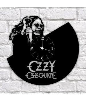 """Часы """"Ozzy Osbourne"""" из виниловой пластинки"""