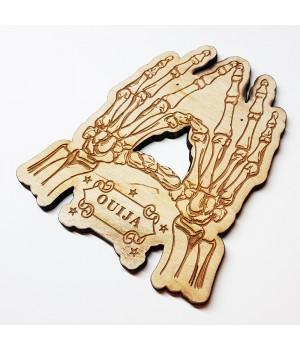 """Указатель-планшетка для спиритической доски """"Костяная рука Ouija"""""""