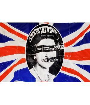 """Флаг """"Sex Pistols"""""""