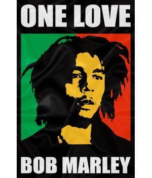 "Флаг ""Bob Marley (Боб Марли)"""