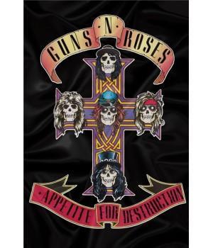 """Флаг """"Guns N' Roses"""""""