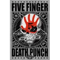 "Флаг ""Five Finger Death Punch"""