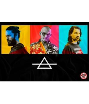 "Флаг ""30 Seconds To Mars"""