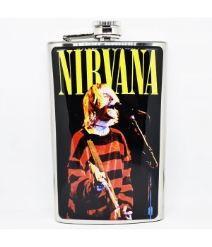 """Фляга стальная """"Nirvana"""" 10 oz"""
