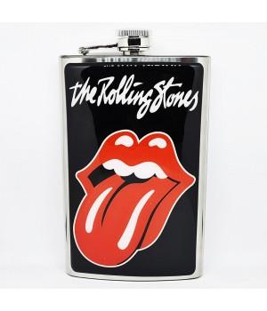"Фляга стальная ""The Rolling Stones"" 10 oz"