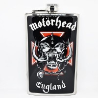 "Фляга стальная ""Motorhead"" 10 oz"