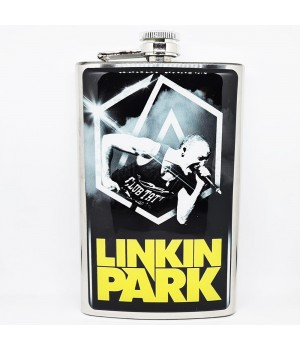 "Фляга стальная ""Linkin Park"" 10 oz"