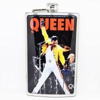 """Фляга стальная """"Queen"""" 10 oz"""
