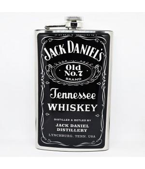 """Фляга стальная """"Jack Daniel's"""" 10 oz"""
