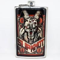 """Фляга стальная """"Slipknot"""" 10 oz"""